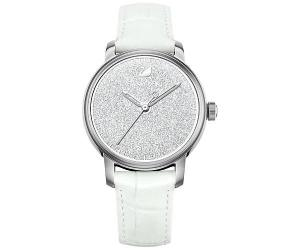 Swarovski Crystalline Hours Watch, White White Stainless steel