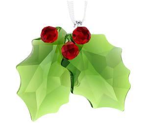 Swarovski Holly Ornament Full-colored