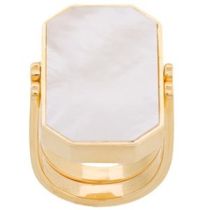 JULIA DAVIDIAN Mother-of-pearl ring