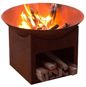 Glow Tambo Cast Iron Fire Pit
