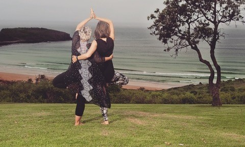 Outdoor Yoga Holidays just a short drive from Sydney