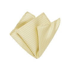 Yellow Micro Pocket Square