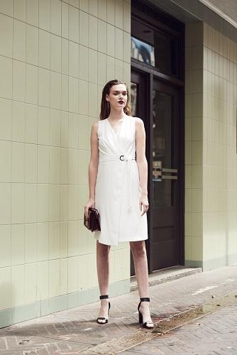 Noemi Cross-over Dress