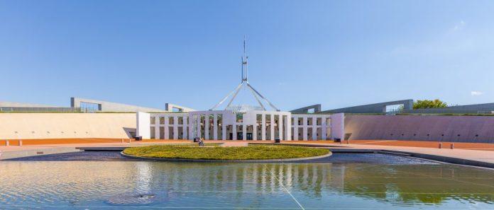 Tòa nhà quốc hội Úc – Parliament House Canberra