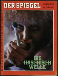 Haschischwelle Bericht Spiegel 1969