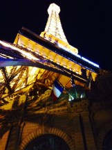 The Eiffel Tower in Vegas