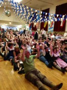 Audience Participation at the Sacramento Turnverein Octoberfest