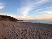 Sun Starting to Set at Stinson Beach