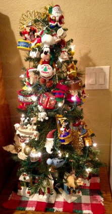 Disney-Themed Christmas Tree