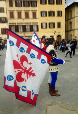 The Symbol of Florence - the giglio (do not call it Fleur-de-lys if you do not want a lecture from a Florentine)