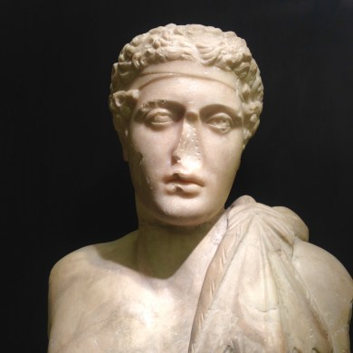 Idealized Bust (2nd century CE) in Palazzo Medici Riccardi