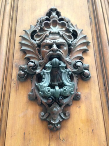 Another Close-up of a Doorknocker