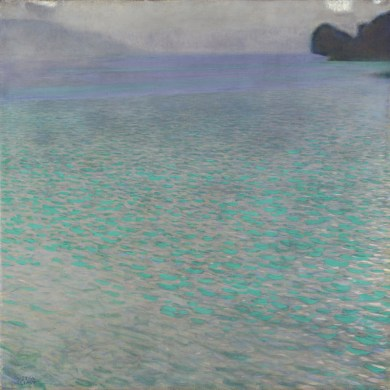 """Klimt """"On Lake Attersee"""""""