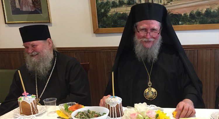 Archbishop Andronik and Metropolitan Moses of Toronto
