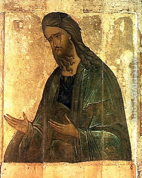 Icon of St. John the Baptist - Andrei Rublev