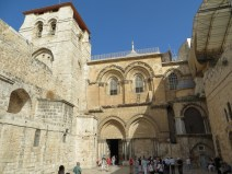 Entrance to Holy Sepulcher