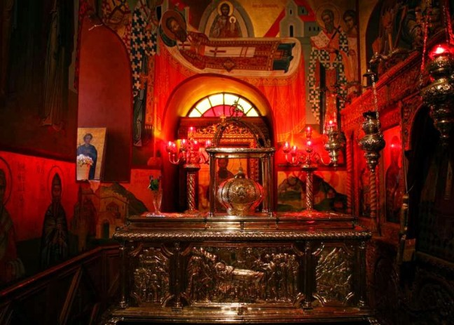 St Gregory Palama Relics