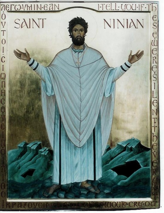 """Saint Ninian - Bishop of Galloway and The """"Apostle of the Southern Picts"""""""