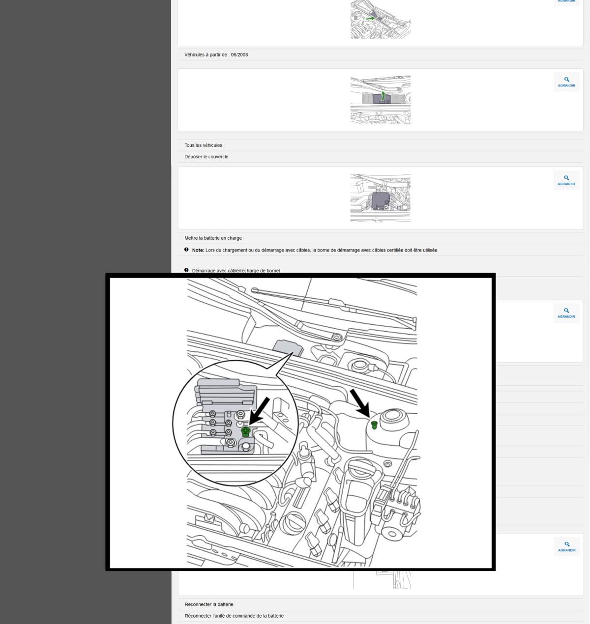 Image screenshot procedures