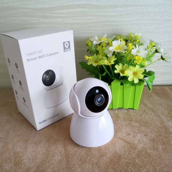 1080P Wireless WIFI Camera Support Two Way Audio Pan/Tilt IR Day Night 6