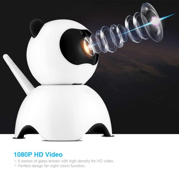 1080P Security Camera Day Night Motion Detection IR CCTV Camera with Built in Speaker 7