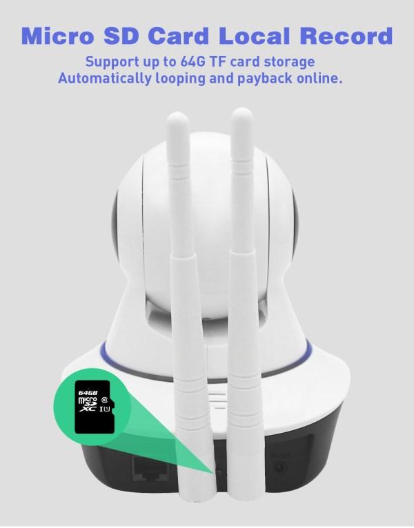IP Camera WiFi Wireless Surveillance CCTV Camera 720P 960P 1080P Home Security Baby Monitor 3