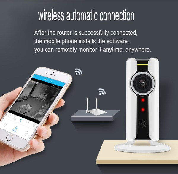 1080P Mini Camera with Motion Detection Two Way Audion IR range 10M P2P Home Camera 7