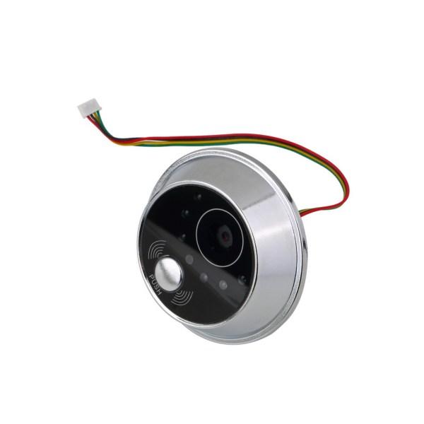 Peephole Intercom 2.8'' Digital Door Viewer with 90 degree for Door Thickness 35mm-75mm Peephole Rang 14mm 5