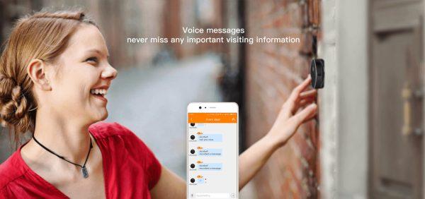 Wireless Doorbell Intercom Support Remote Receiving Group Chatting Update online Door phone Intercom 7