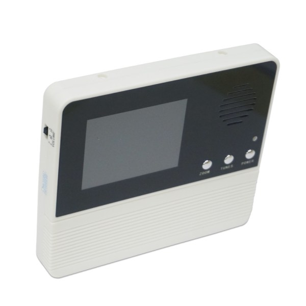 Peephole Intercom 2.8'' Digital Door Viewer with 90 degree for Door Thickness 35mm-75mm Peephole Rang 14mm 3