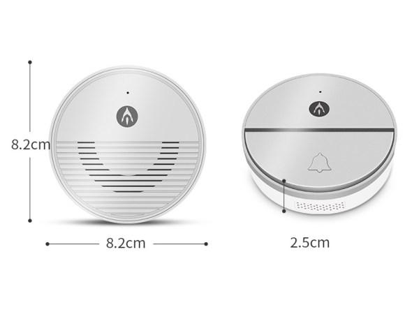 Wireless Doorbell Intercom Support Remote Receiving Group Chatting Update online Door phone Intercom 2