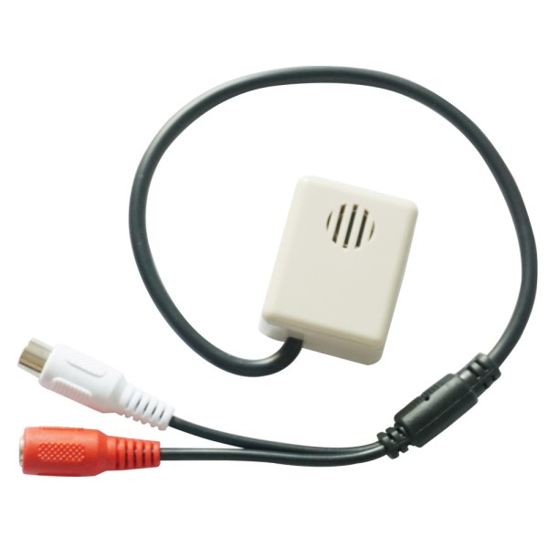 CCTV Microphone Mini Sound Monitor Sensitivity Audio Sound Pick Up For CCTV Surveillance Kits 1