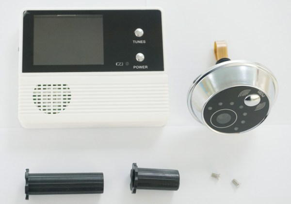 Digital Electric Peephole Video Door Intercom 2.4'' Screen 90 degree Viewing Angle Home Security Video Doorbell 3