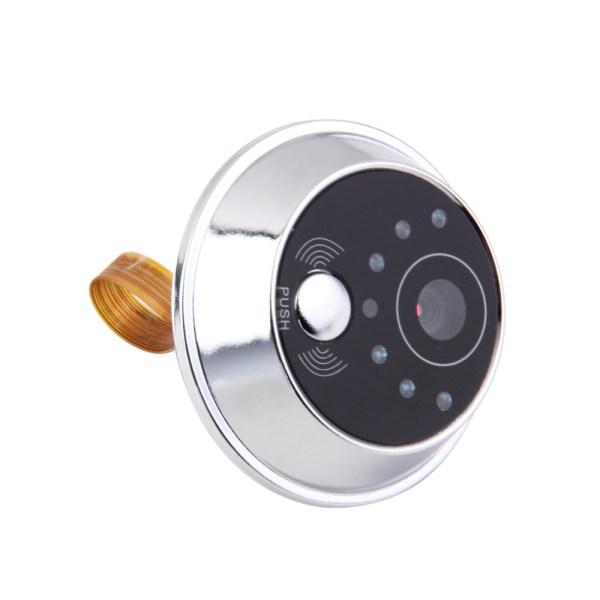Digital Electric Peephole Video Door Intercom 2.4'' Screen 90 degree Viewing Angle Home Security Video Doorbell 2