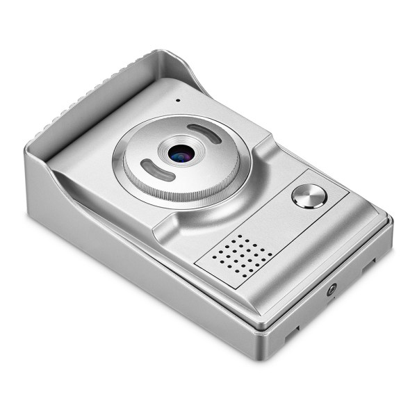 Video Intercom System 7'' Monitor Door phone Camera with 25 Ring Bell Elegant Design for Home Security 5
