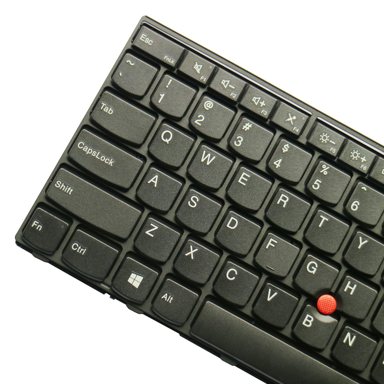 Replacement Keyboard for Lenovo ThinkPad T540 T540p L540 W540 W541 T550  W550 W550s T560 L560 L570 Laptop (6 Fixing Screws)