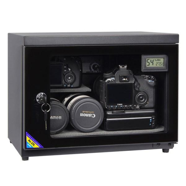 AUTENS 25L Digital Control Dehumidify Dry Cabinet Box DSLR Lens Camera Equipment Storage 1