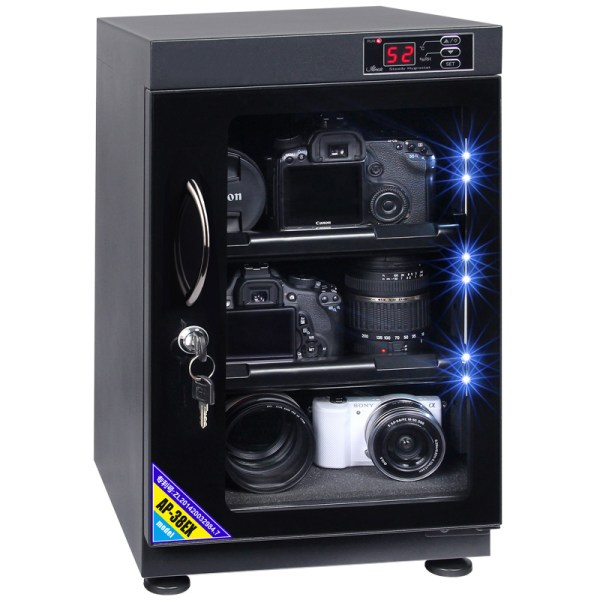 AUTENS 38L Digital Control Dehumidify Dry Cabinet Box DSLR Lens Camera Equipment Storage 1