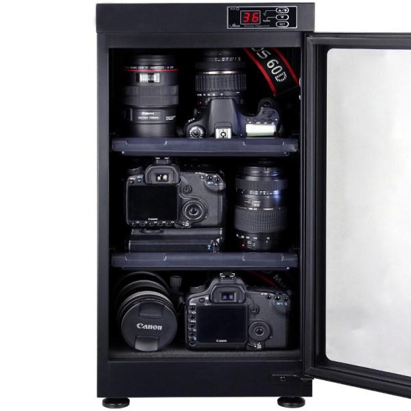 AUTENS 48L Digital Control Dehumidify Dry Cabinet Box DSLR Lens Camera Equipment Storage 3