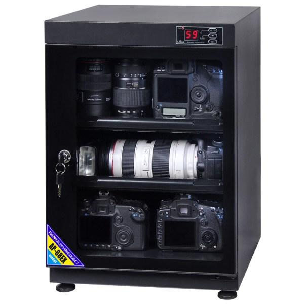 AUTENS 68L Digital Control Dehumidify Dry Cabinet Box DSLR Lens Camera Equipment Storage 3