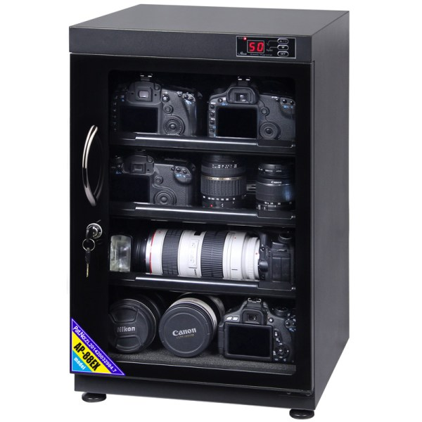 AUTENS 88L Digital Control Dehumidify Dry Cabinet Box DSLR Lens Camera Equipment Storage 2