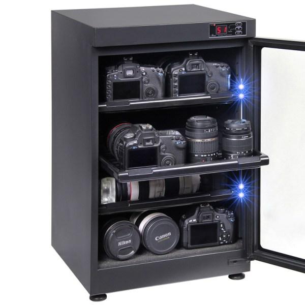 AUTENS 88L Digital Control Dehumidify Dry Cabinet Box DSLR Lens Camera Equipment Storage 5