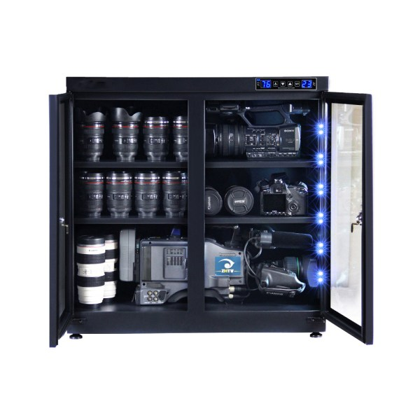 AUTENS 210L Touch Screen Camera Dehumidifying Dry Cabinet Storage Box for DSLR Camera Lens 2