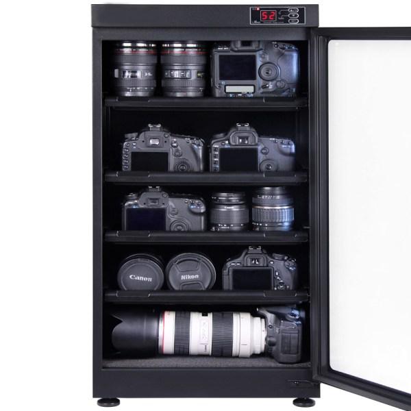 AUTENS 102L Digital Control Dehumidify Dry Cabinet Box DSLR Lens Camera Equipment Storage 3