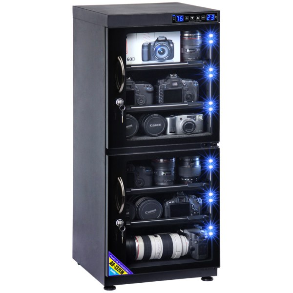 AUTENS 132L Touch Screen Camera Dehumidifying Dry Cabinet Storage Box for DSLR Camera Lens 1