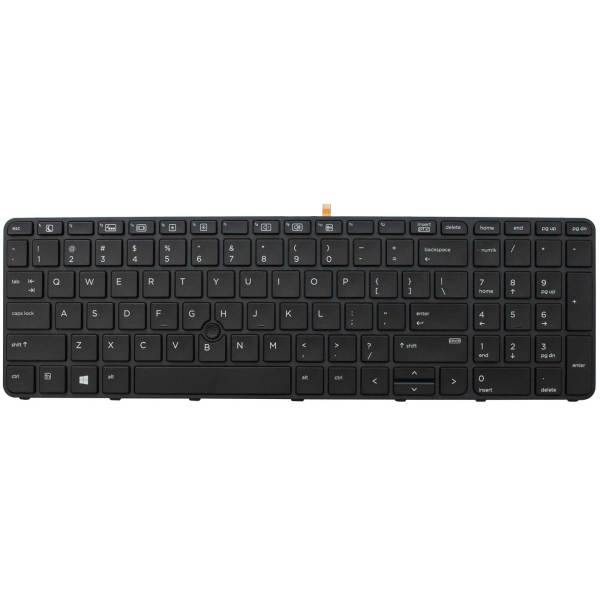 Replacement Keyboard for HP ProBook 450 G3 / 450 G4 / 455 G3 / 455 G4 / 470 G3 / 470 G4 Laptop With Pointer 1
