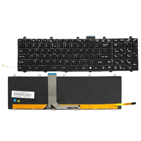 Replacement Keyboard for MSI GE60 GE70 GT60 GT70 Laptop Colorful Backlit 2