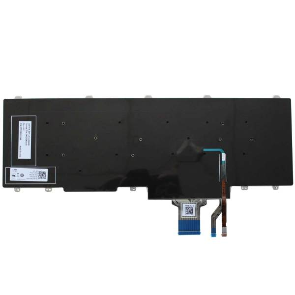 Replacement Keyboard for Dell Latitude E5550 E5570 / Precision 3510 3520 7510 7520 7710 7720 Laptop with Pointer No Frame 2