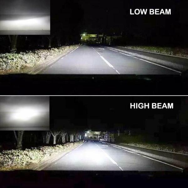 LED Car Headlight Bulbs H8 H9 H11 High Beam/Low Beam/Fog Light All-in-One Design 8