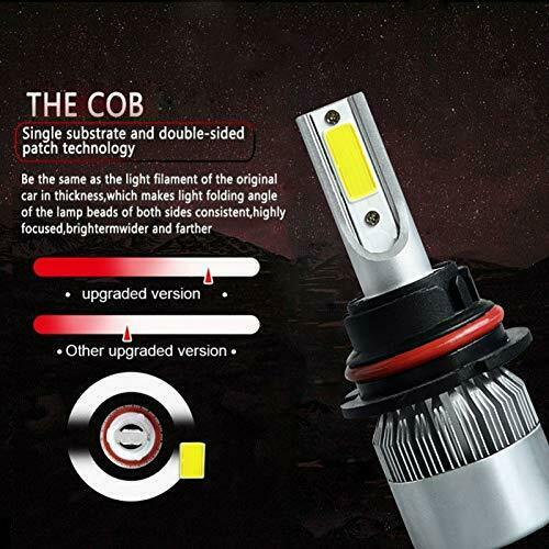 LED Car Headlight Bulb 9004/9007 26000LM 110W 6000K High Beam/Low Beam/Fog Light 4
